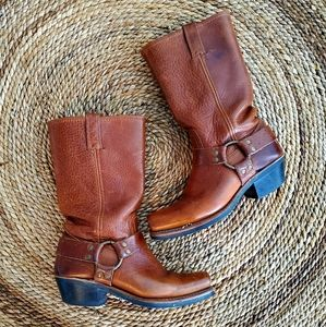 Frye 12R Harness Boots 8